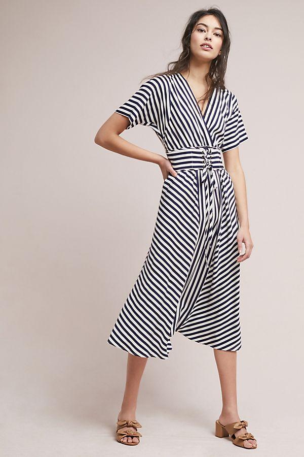 e513f6495ab Tracy Reese Striped Corset Dress