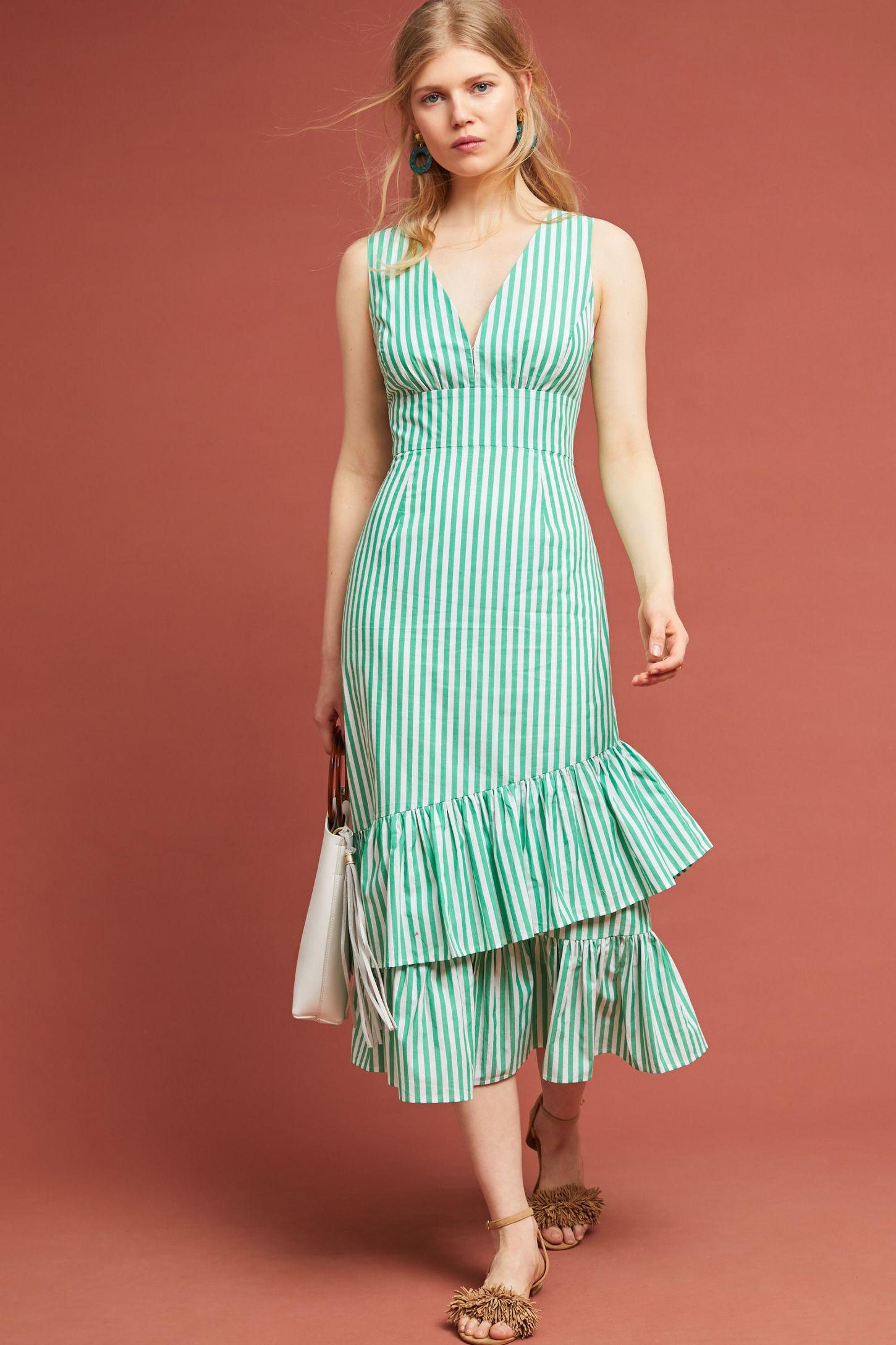 56ff0d54c16cd Assateague Striped Dress | Anthropologie