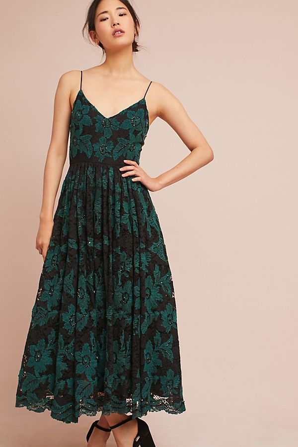 da70384a4f1 Tracy Reese Lace Midi Dress