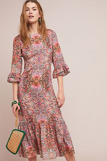2a4a2e56407c Kachel Karlotta Printed Dress