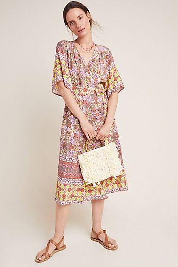 f0a0672dae7 Mirabelle Midi Wrap Dress