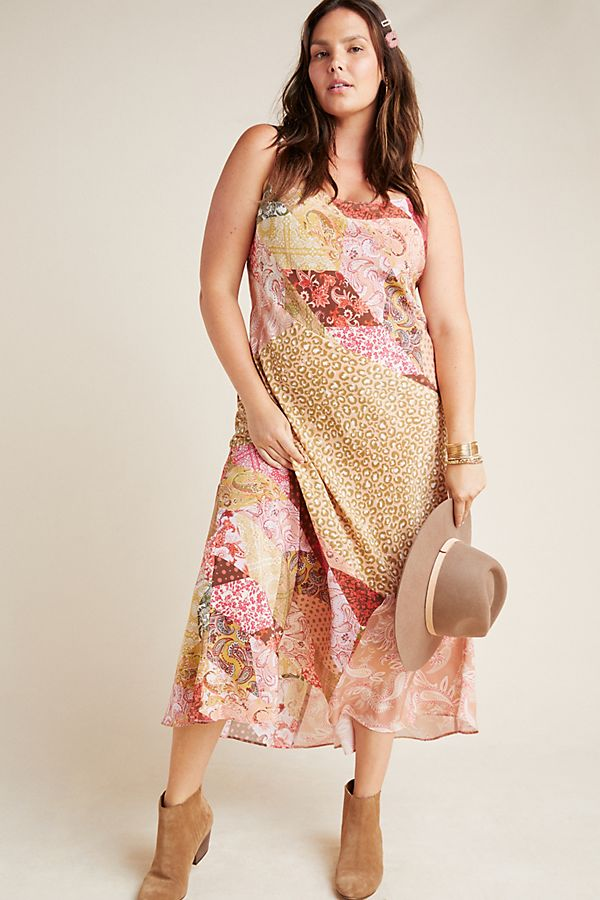 Diane Silk Bias Slip Dress by Kachel
