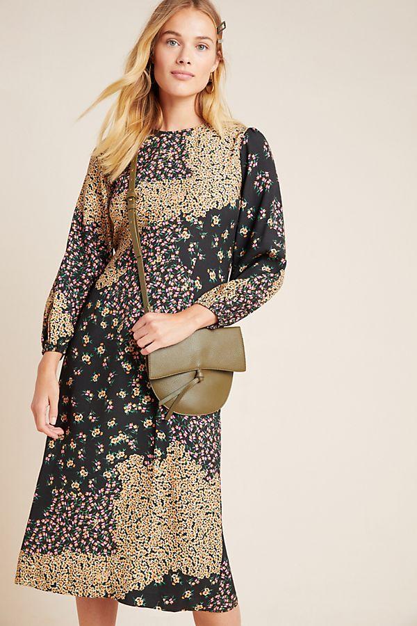 Slide View: 1: Joanna Floral Midi Dress