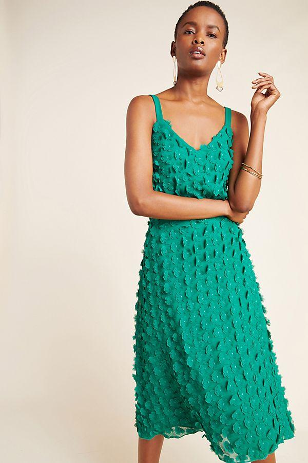 Slide View: 1: Hanya Textured Mini Dress