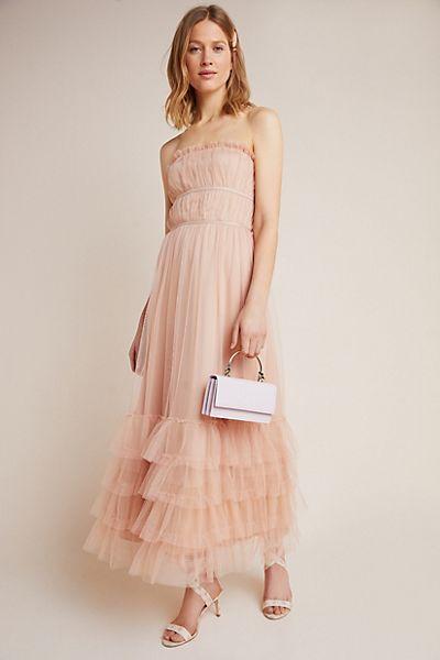Graciela Tiered Tulle Maxi Dress