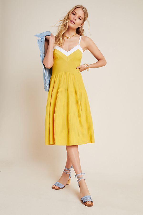 Slide View: 2: Jolie Tiered Knit Mini Dress