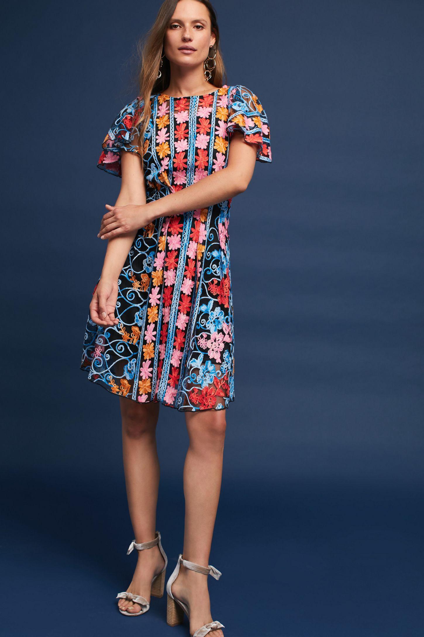 1390c64f6d1 Ferrah Embroidered Dress