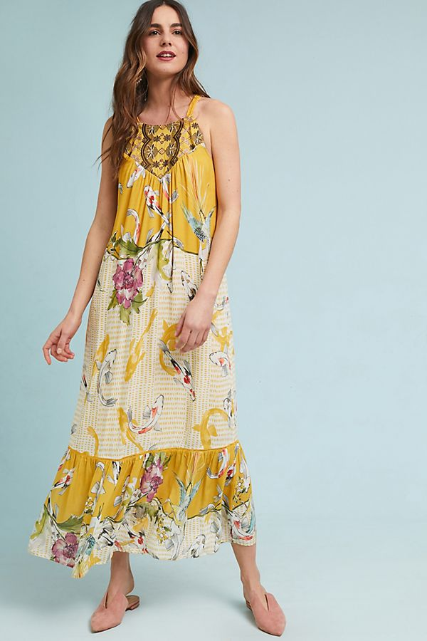 e2f45d4b5303 Paradiso Halter Dress | Anthropologie