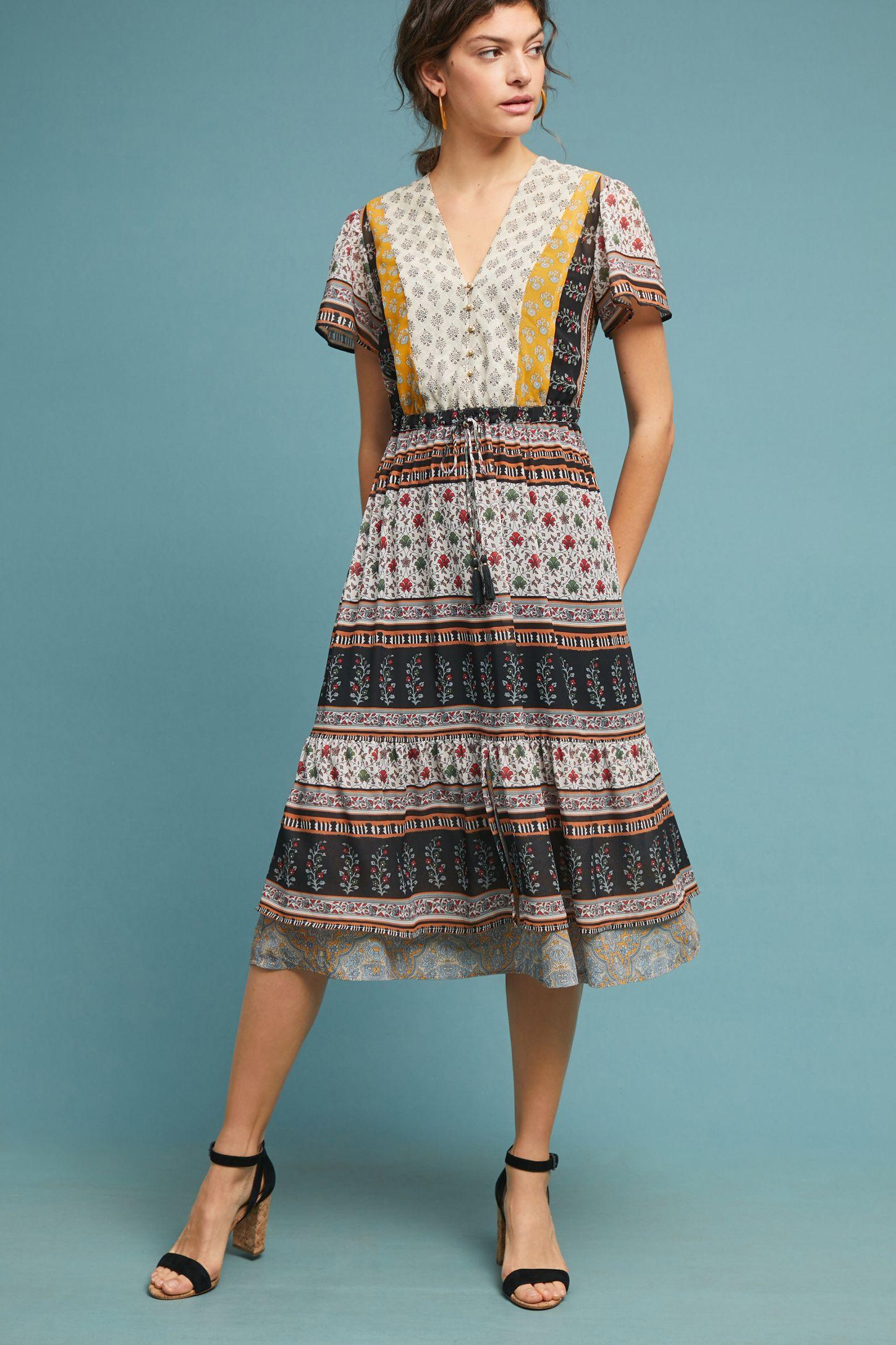 b9fb89087f2 Provencal Midi Dress