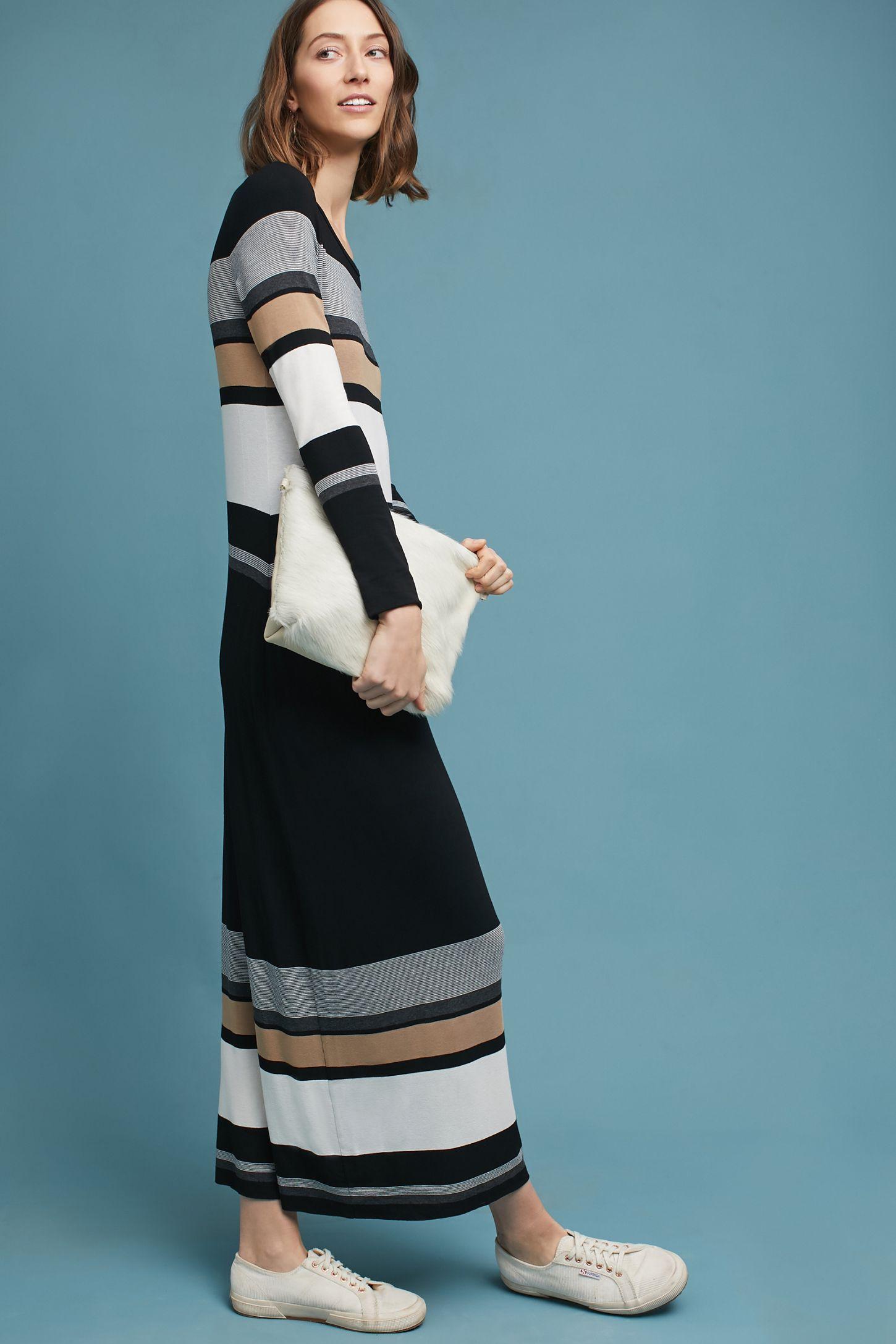 9a34387bab478 Norwich Striped Maxi Dress | Anthropologie