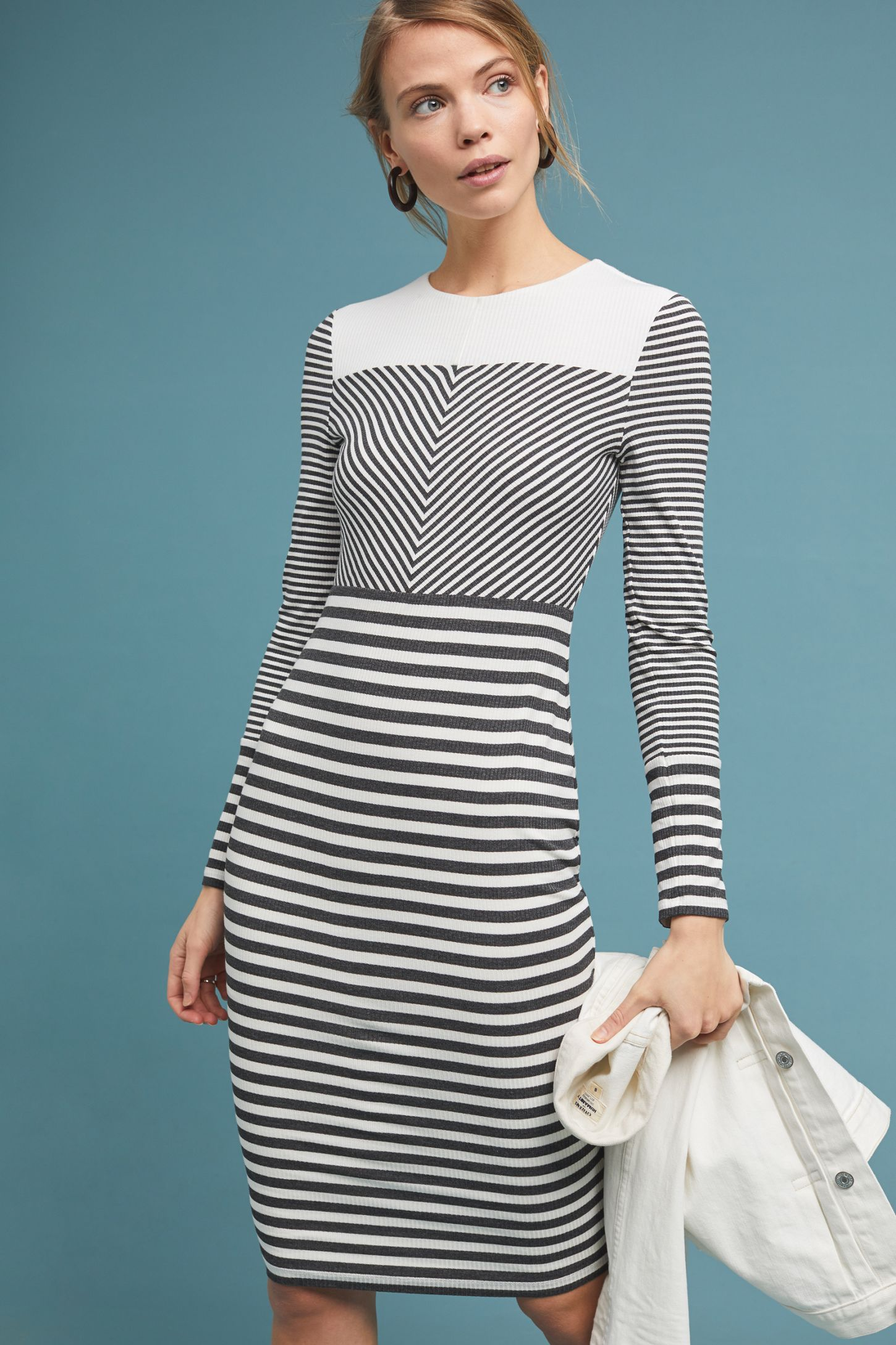 82a7504e9dc Edith Striped Dress | Anthropologie