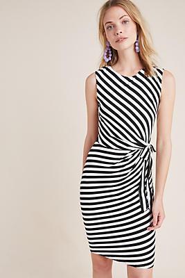 Slide View: 1: Elena Striped Dress