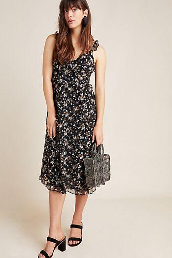 c2a814b3b8 Cecile Ruffled Floral Dress