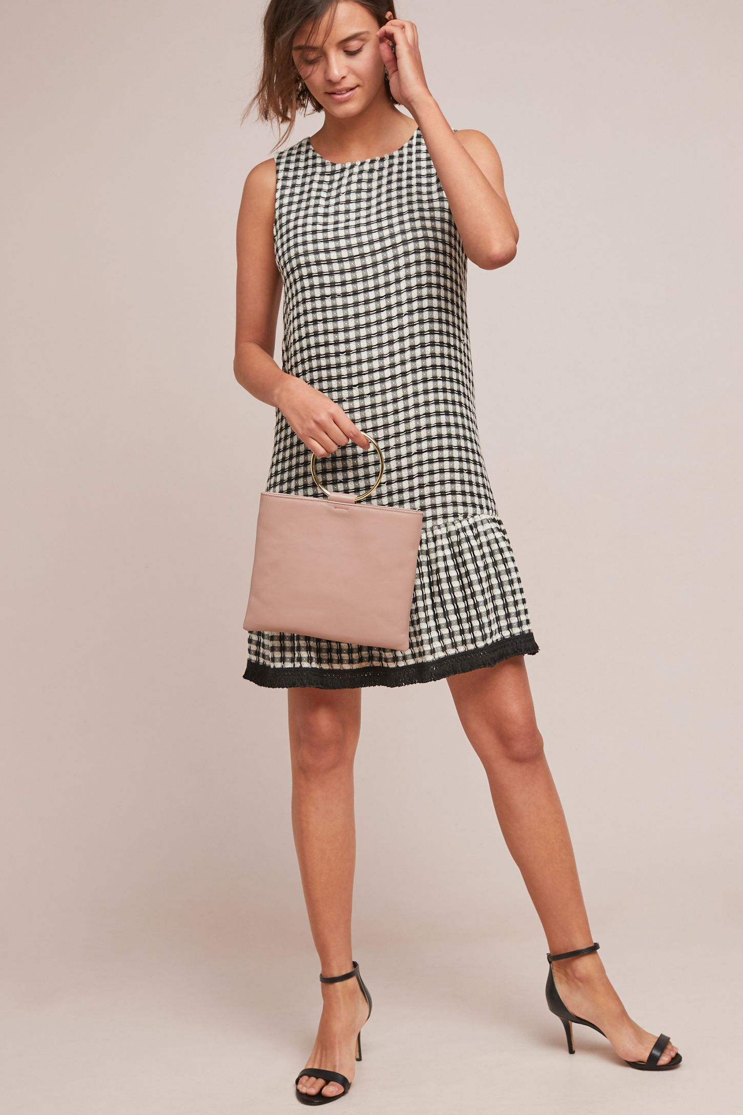 88b3dfa658bd Gingham Shift Dress | Anthropologie