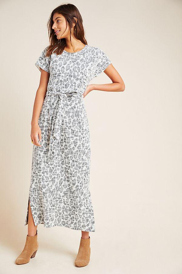 Slide View: 1: Taleen Textured Midi Dress