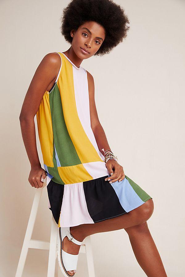 Slide View: 1: DOLAN Collection Audra Drop Waist Dress
