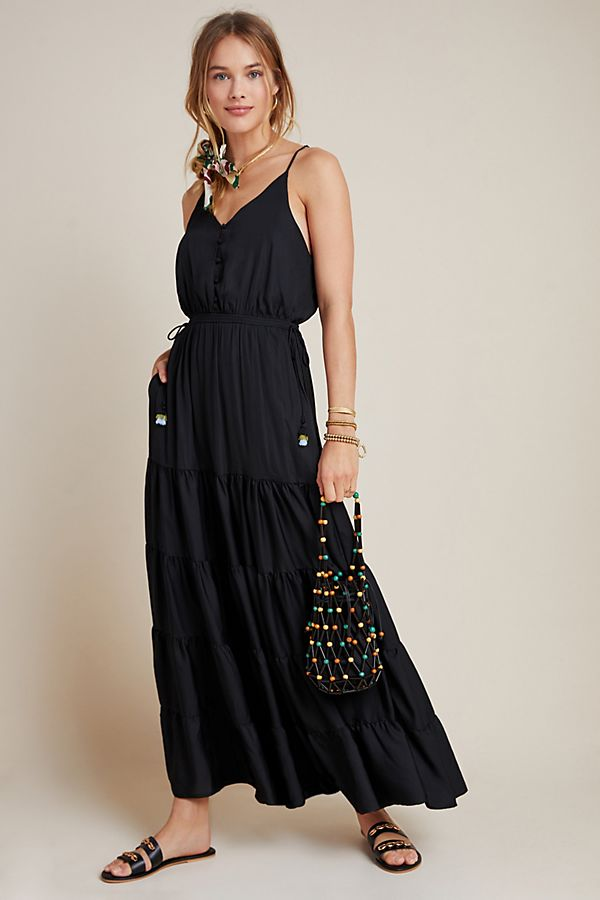 Slide View: 1: DOLAN Collection Tiered Maxi Dress