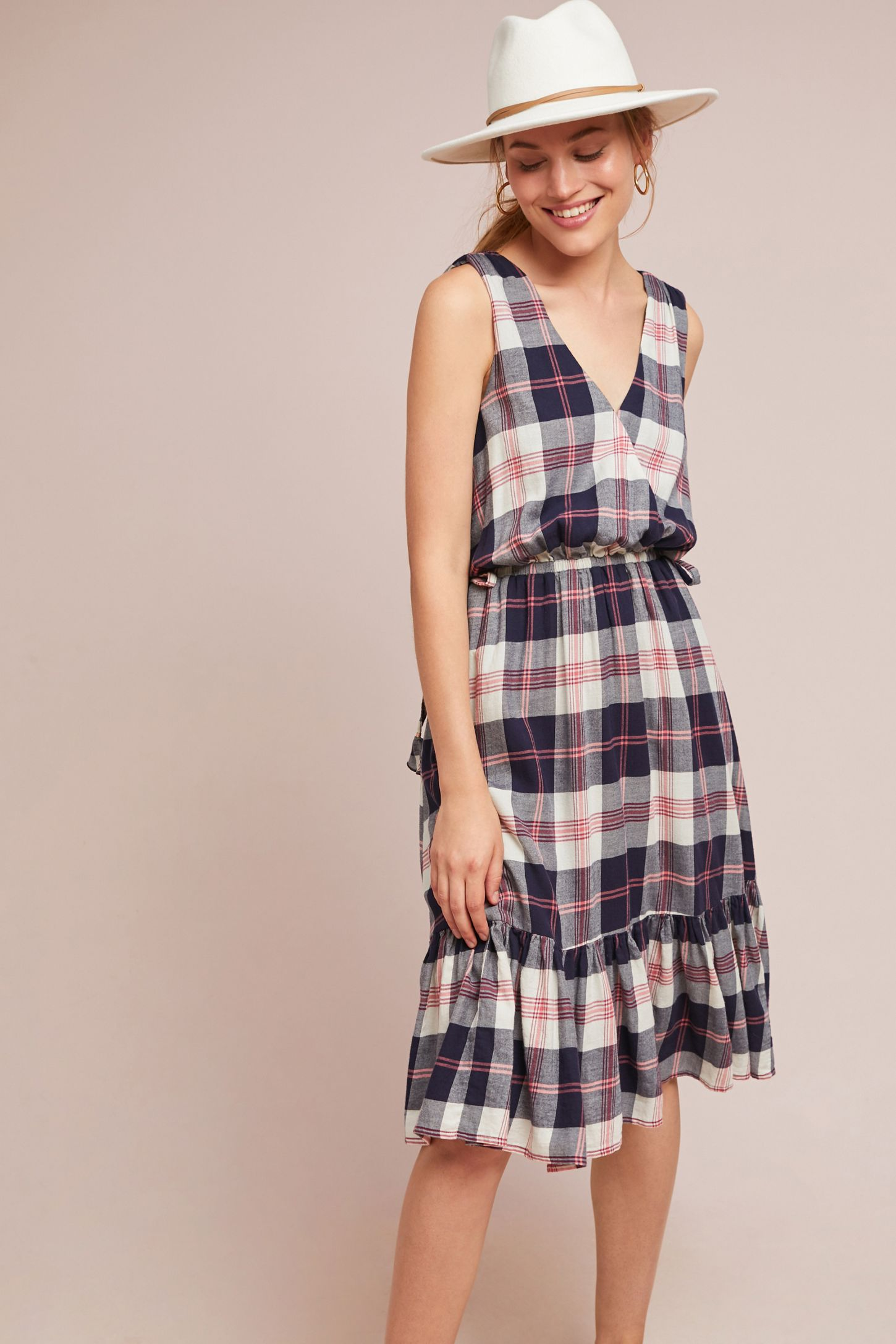 4d23f86cec0 Dickens Plaid Dress | Anthropologie