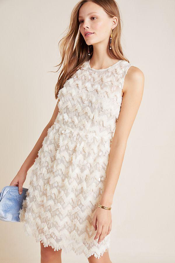 Slide View: 1: Priscilla Textured Mini Dress