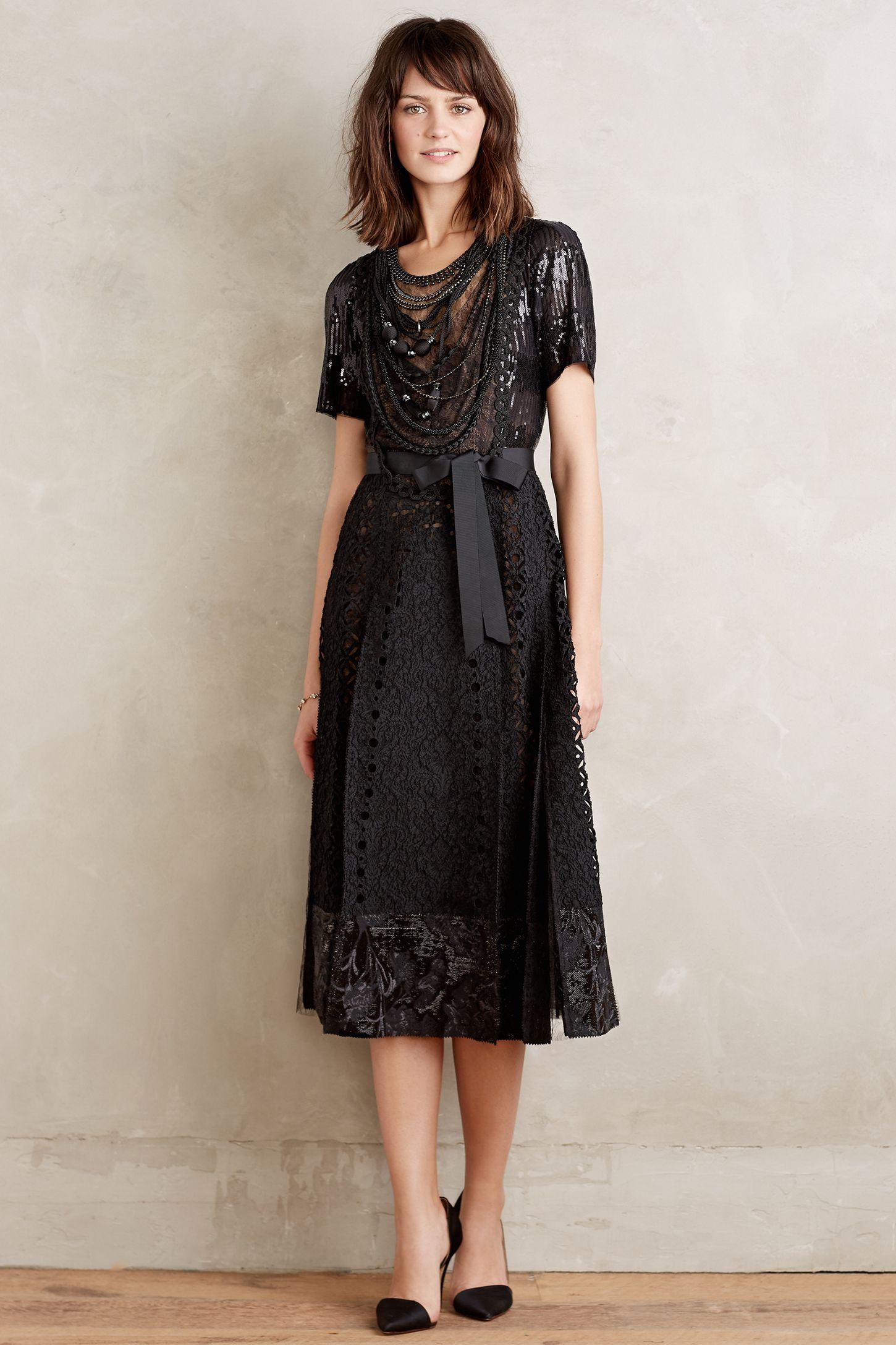 53c5c28aeb7e Corinna Necklace Dress | Anthropologie