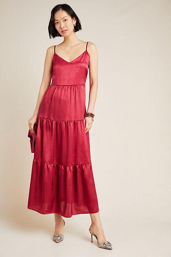 Slide View: 1: Elodie Tiered Maxi Dress