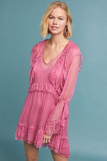 afcf4c61c246 Juliet Ruffled Mini Dress