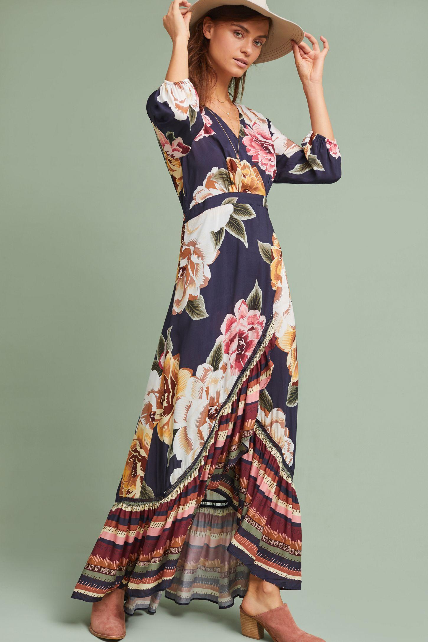 0f676f47cfa0 Farm Rio Layla Wrap Dress | Anthropologie