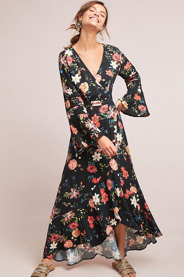 d40c5cd81f6 Farm Rio Summer Flower Wrap Dress