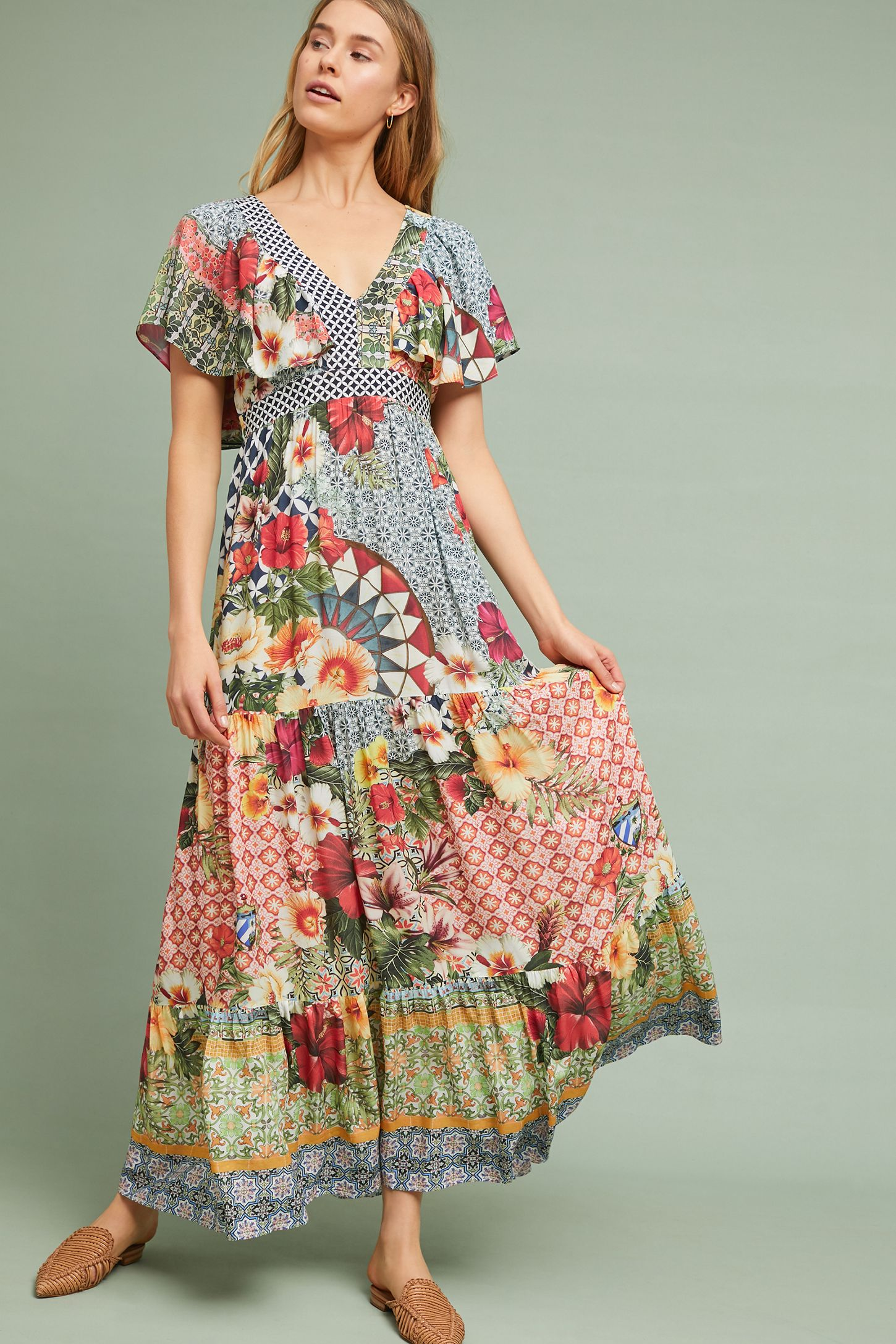 53c7aaa1378a Farm Rio Helja Maxi Dress | Anthropologie