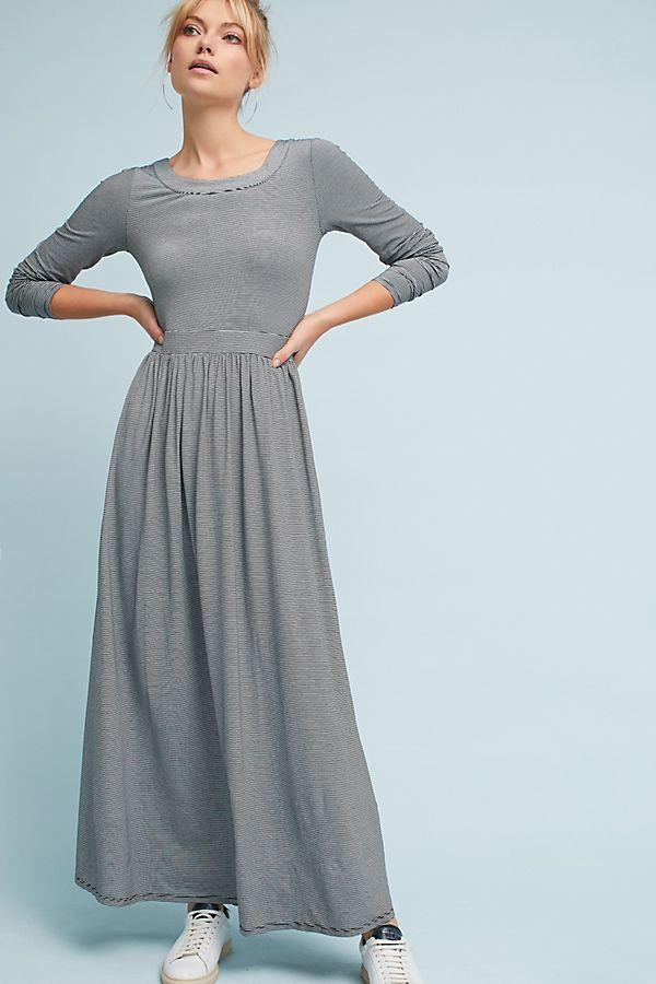 99d6c0606 Striped Knit Maxi Dress | Anthropologie