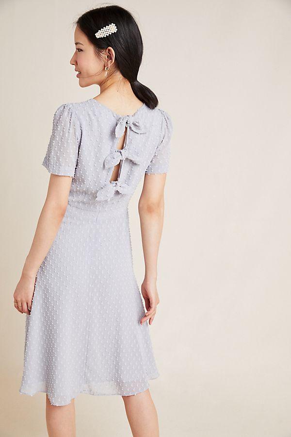Slide View: 1: Georgiana Textured Mini Dress