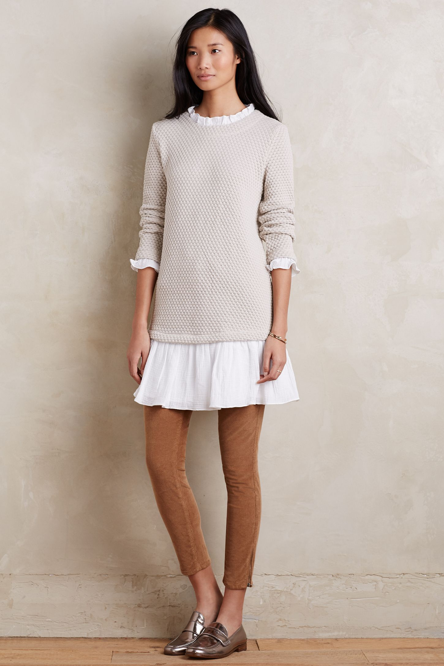 d7e8c1d279a Layered Ruffle Tunic Dress | Anthropologie