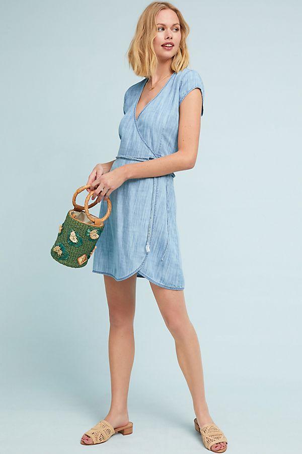 7b207e23d Cloth & Stone Juniper Wrap Dress   Anthropologie