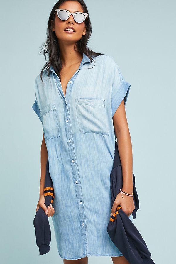 f011a35188f Cloth   Stone Wilson Chambray Shirtdress