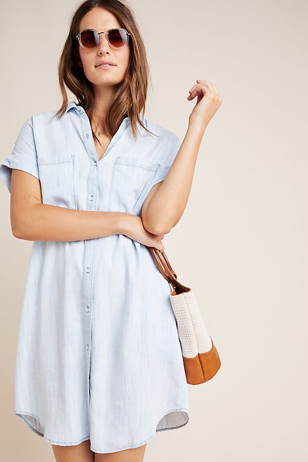 Cloth & Stone Sawyer Chambray Shirtdress by Cloth & Stone