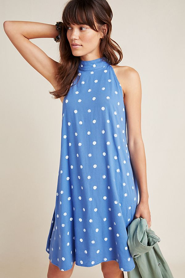 e8dfcef2d072 Cloth & Stone Hailey Halter Swing Dress
