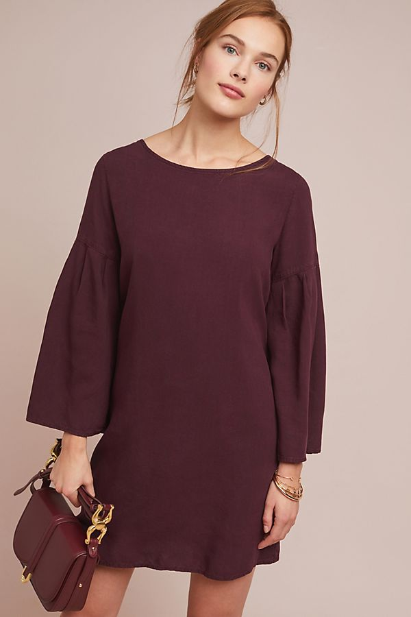 359a42cdafe66 Cloth   Stone Bell-Sleeved Tunic Dress