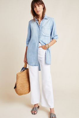 Cloth & Stone Benicia Chambray Shirtdress by Cloth & Stone