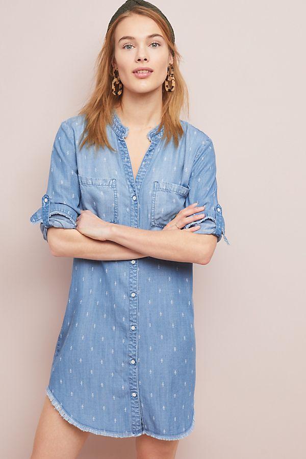 Cloth & Stone MaryLou Chambray Shirtdress
