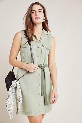 Slide View: 1: Cloth & Stone Utility Shirtdress