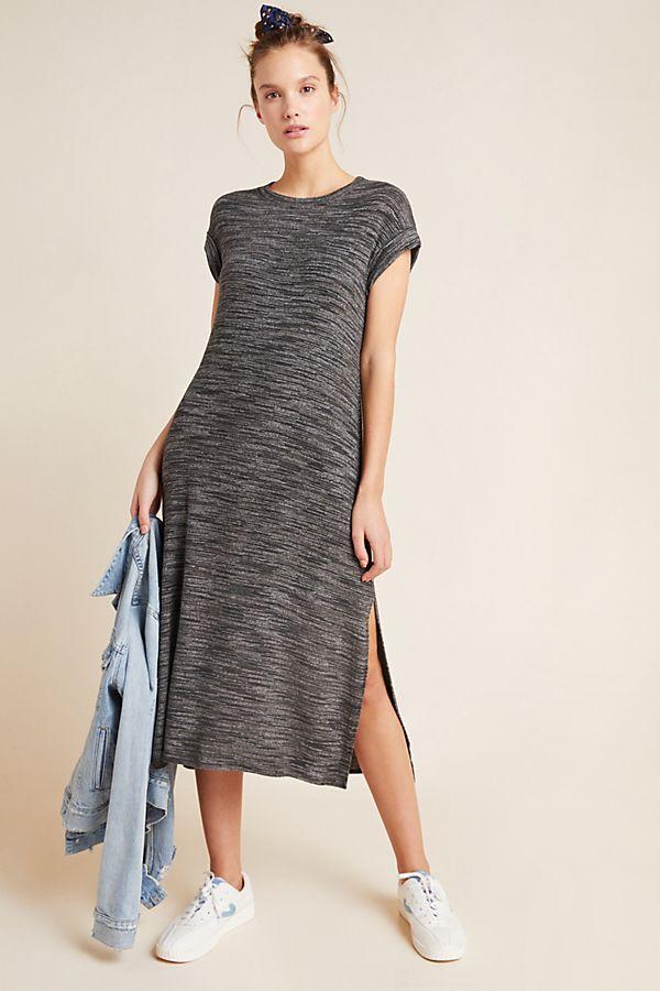 Slide View: 1: Cloth & Stone Lori Knit Midi Dress