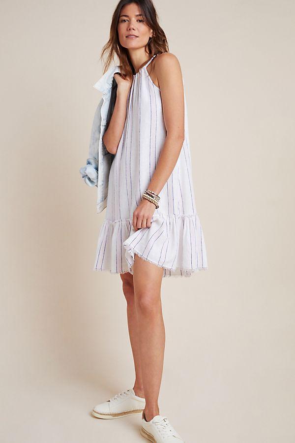 Slide View: 1: Cloth & Stone Halter Mini Dress