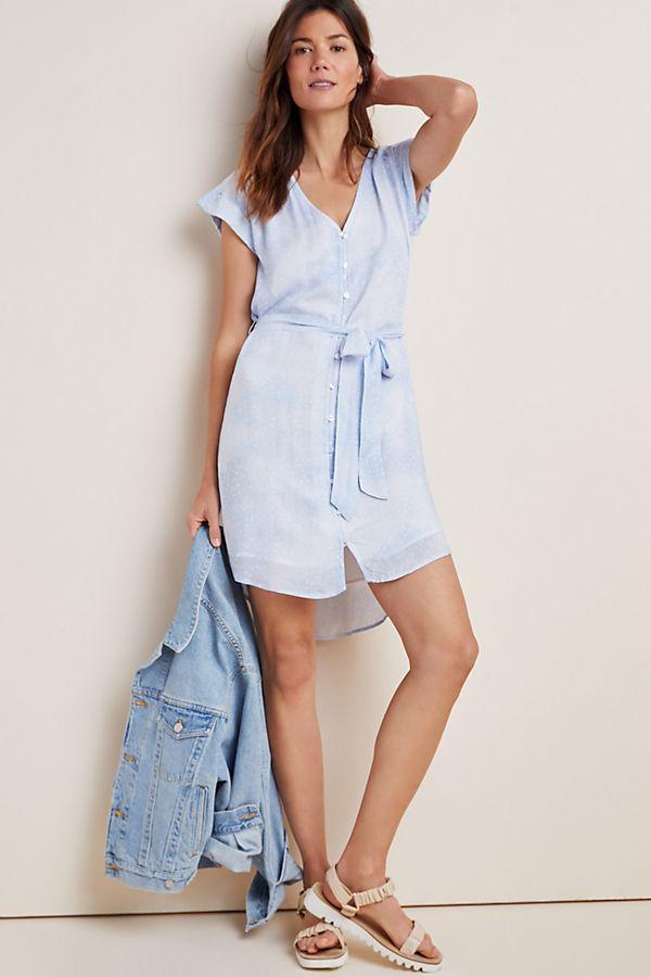 Slide View: 1: Cloth & Stone Bekah Mini Shirtdress