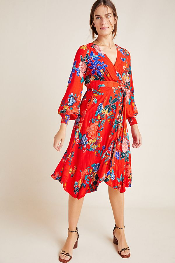 Slide View: 1: Boswell Textured Wrap Tunic