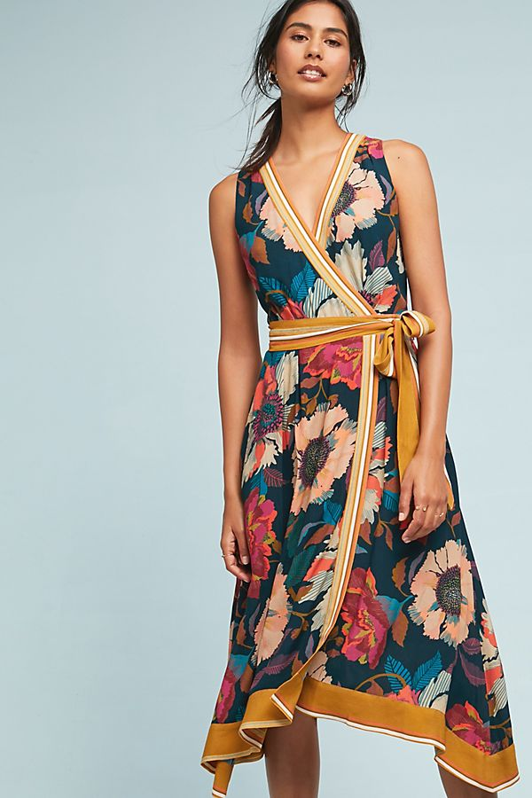 54638a5bd74e4 Botanica Wrap Dress | Anthropologie UK