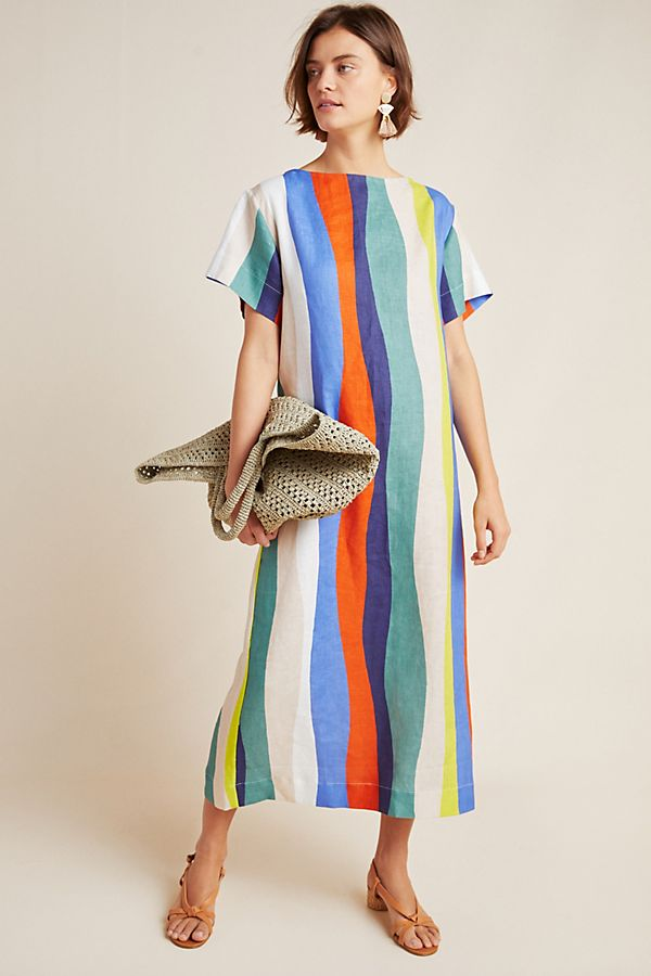 7bb19e39b7 WHIT Sonora Linen Maxi Dress | Anthropologie