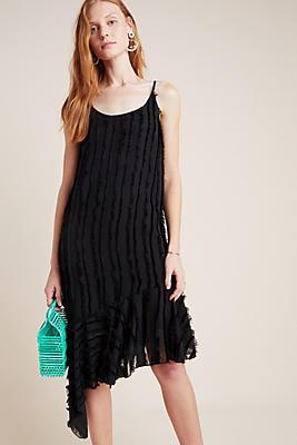 Slide View: 1: Fringed Slip Dress
