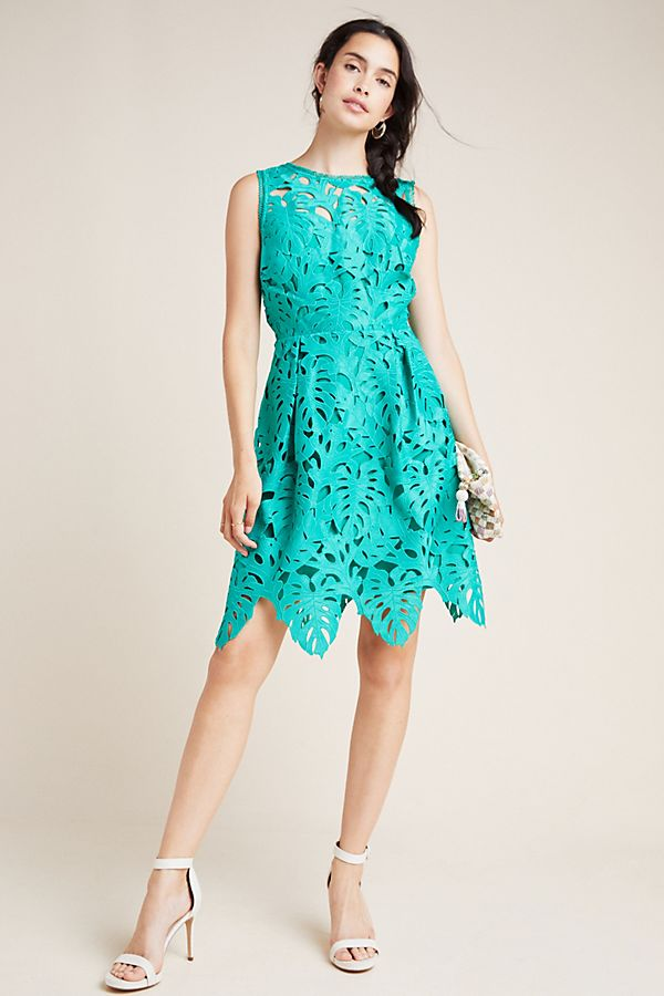 Slide View: 1: Toulouse Lace Mini Dress