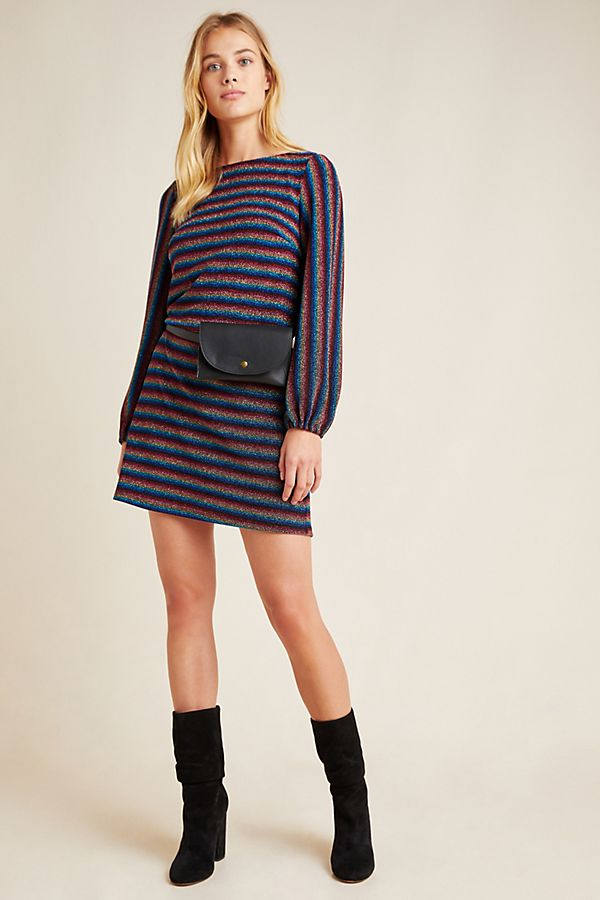 Slide View: 1: Rainbow Shimmer Tunic