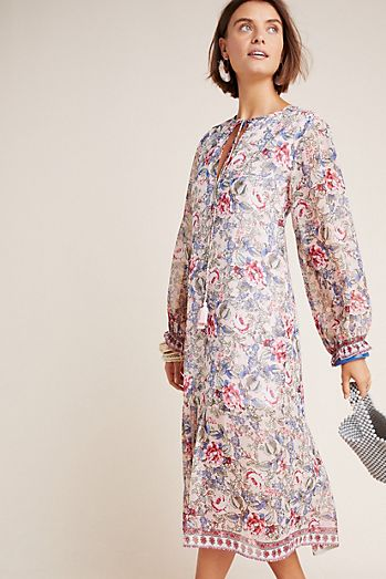 2a41a5e1a3e Ramona Floral Peasant Dress